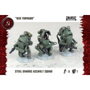 Dust Tactics - Steel Guard Assault Squad
