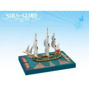 Sails of Glory - HMS Cleopatra 1779