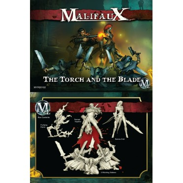 Malifaux 2nd Edition The Torch and the Blade