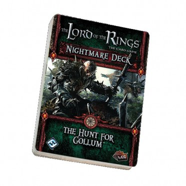 The Lord of the Rings LCG - The Hunt for Gollum Nightmare Deck