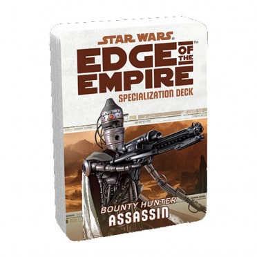 Star Wars : Edge of the Empire - Assassin Specialization Deck
