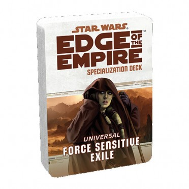 Star Wars : Edge of the Empire - Force Sensitive Exile Specialization Deck