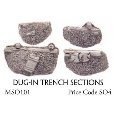 Dug In Trench Section