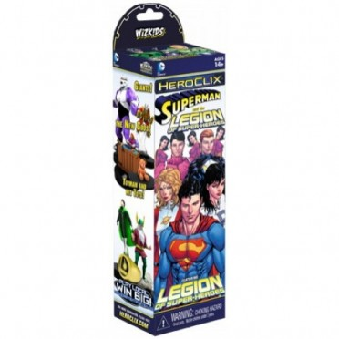 Heroclix: Boosters Superman & The Legion of Super-Heroes