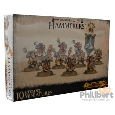 Age of Sigmar : Order - Dispossessed Hammerers