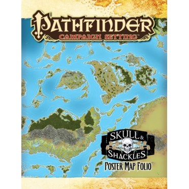 Pathfinder - Skull & Shackles Poster Map Folio