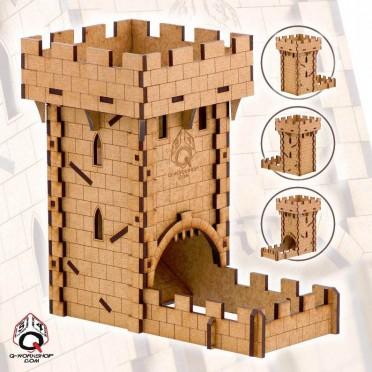 Human Dice Tower (Q-Workshop)