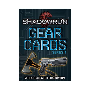 Shadowrun : 5th Edition - Gear Cards Series 1