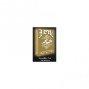 Allure White - Gold - Jeux de 54 Cartes Bicycle