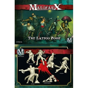 Malifaux 2nd Edition The Latigo Posse