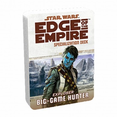 Star Wars : Edge of the Empire - Big Game Hunter Specialization Deck
