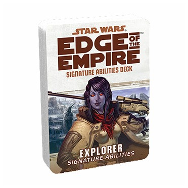 Star Wars : Edge of the Empire - Explorer Specialization Deck