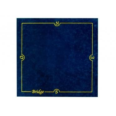 Tapis Bridge 77X77cm Bleu
