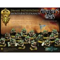 Avatars of War : Dwarf Pathfinders Regiment Box 1