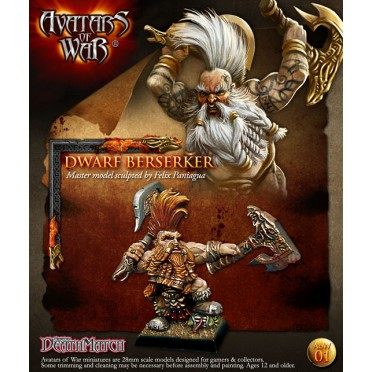 Avatars of War - Dwarf Berserker