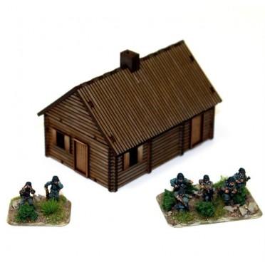 Maison en bois 15mm