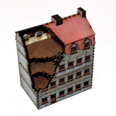 immeuble détruit 15mm