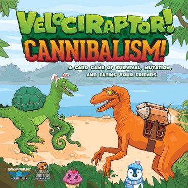 Velociraptor! Cannibalism Card Game