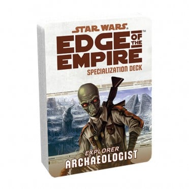Star Wars : Edge of the Empire - Archaeologist Specialization Deck