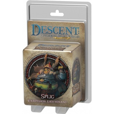 Descent Seconde Édition - Splig Extension Lieutenant