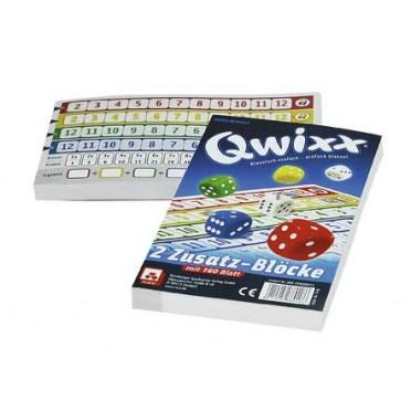 Qwixx - 2 Zusatz - Blöcke