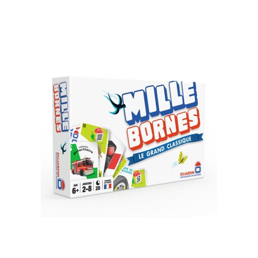 Mille bornes le grand classique boutique philibert en for Dujardin 1000 bornes