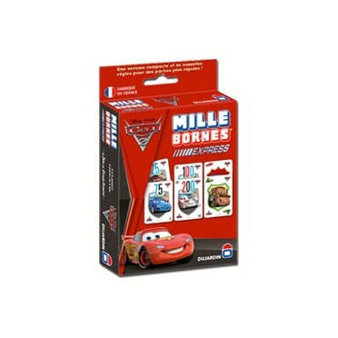mille bornes cars 2 express boutique philibert. Black Bedroom Furniture Sets. Home Design Ideas
