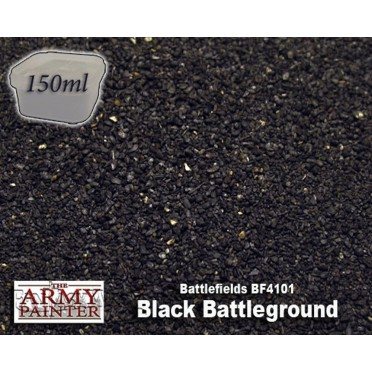 Army Painter - Black Battleground Basing - 150ml