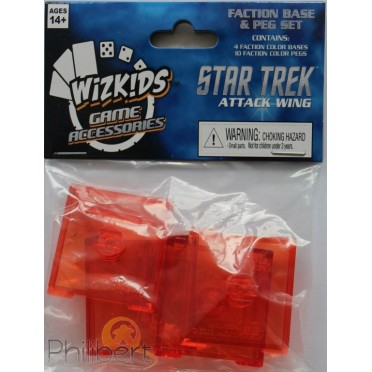 Star Trek : Attack Wing - Faction Base Set Red