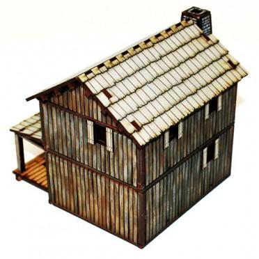 Cabane à étage de Colon du Canada 4