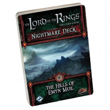 The Lord of the Rings LCG - The Hills of Emyn Muil Nightmare Deck