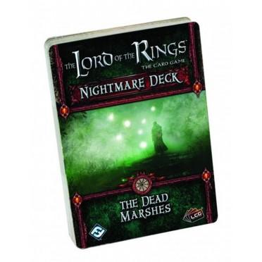 The Lord of the Rings LCG - The Dead Marshes Nightmare Deck