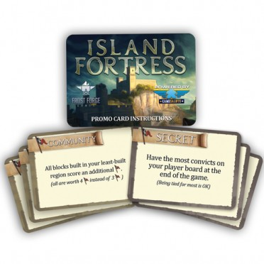 Island Fortress - Promo Cards