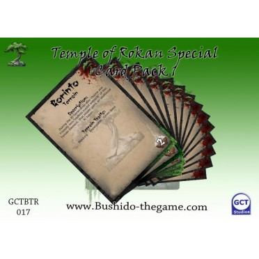 Bushido - Temple of Ro-Kan Card Pack 1