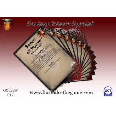 Bushido - Savage Wave Special Card Pack 1