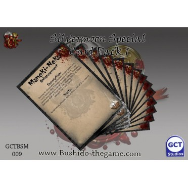 Bushido - Silvermoon Trade Syndicate Special Card Pack 1