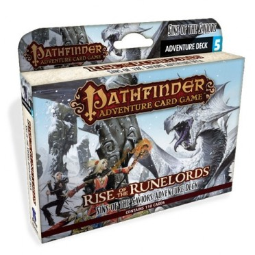 Pathfinder ACG - Rise of the Runelords : Sins of the Saviors Adventure Deck