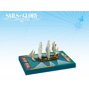 Sails of Glory - HMS Alligator 1782