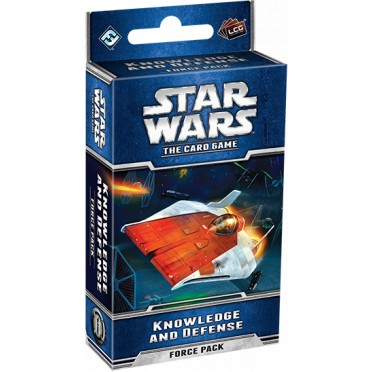 Star Wars : The Card Game - Knowledge and Defense Force Pack