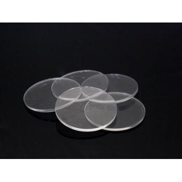 Clear Miniature Bases - Circular 30mm