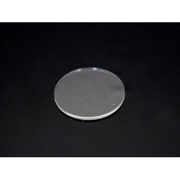 Clear Miniature Bases - Circular 50mm