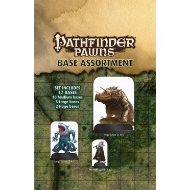 Pathfinder - Assortiments de socles