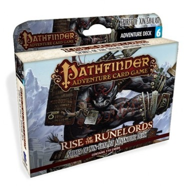 Pathfinder ACG - Rise of the Runelords : Spires of Xin-Shalast Adventure Deck