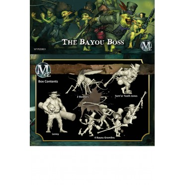 Malifaux 2nd Edition - Som'er Box Set The Bayou Boss