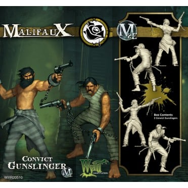 Malifaux 2nd Edition - Convict Gunslinger