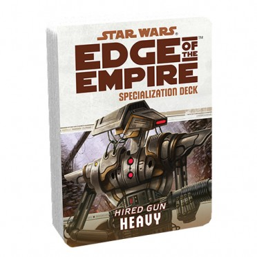 Star Wars : Edge of the Empire - Heavy Specialization Deck