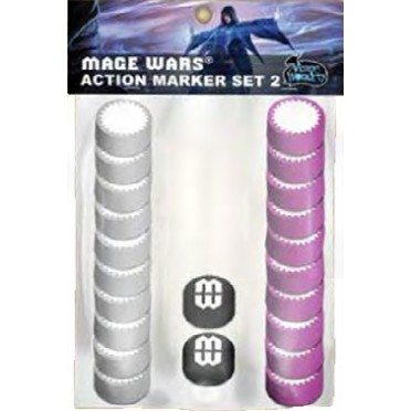 Mage Wars: Action Marker Set 2