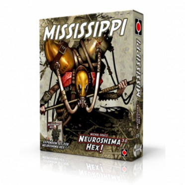 Neuroshima Hex : Army Pack - Mississippi (Anglais)