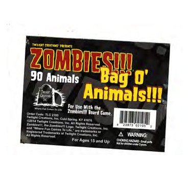 Zombies!!! : Bag O' Zombies!!! - Animals !!!