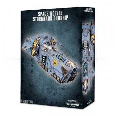W40K : Adeptus Astartes Space Wolves - Stormfang Gunship
